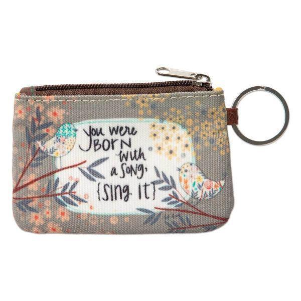 Inspirational ID Wallet Keychains