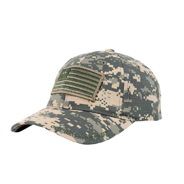Military Flag Hat - Fruit of the Vine