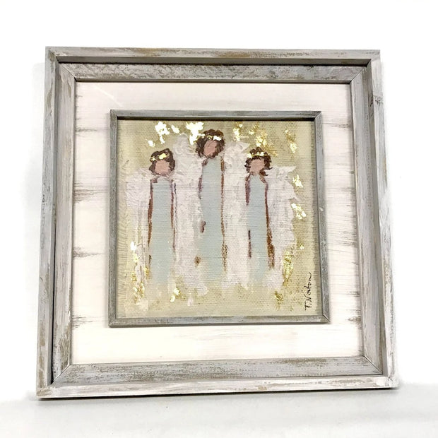 Angel Trio Wall Art - Fruit of the Vine