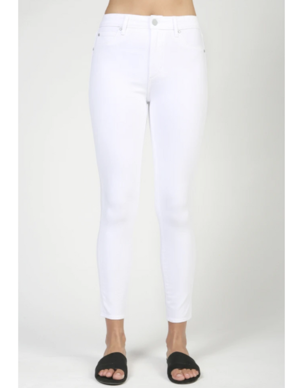 Heather Crop Hi-Rise Skinny Jeans | Articles of Society | Fruit of the Vine Boutique