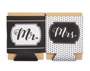Set of Mr. and Mrs. Drink Sleeves