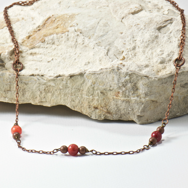 Dani Carnelian Necklace