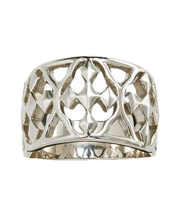 Shield of Faith Sterling Ring