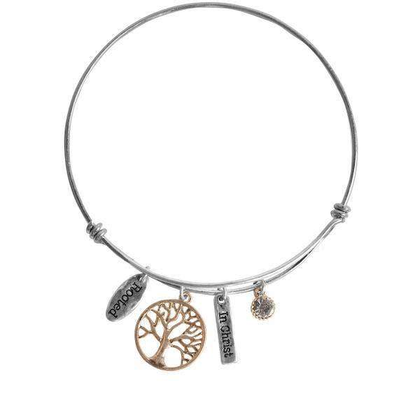 Tree of Life Charm Bracelet - Fruit of the Vine