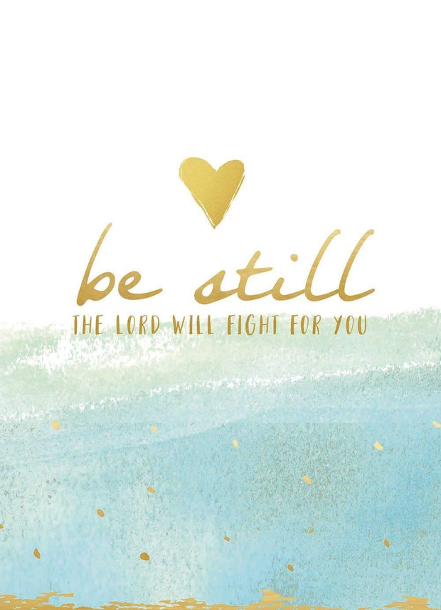 The Lord Will Fight For You Encouragement Card | Fruit of the Vine Boutique