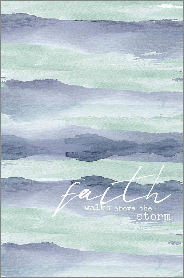 Faith Walks Above the Storm Prayer Journal