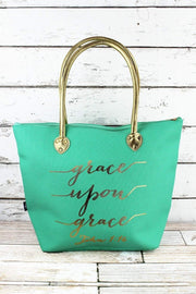 Inspirational Tote Bags - Fruit of the Vine