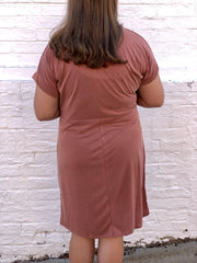 Cooper Knot Dress (Curvy)