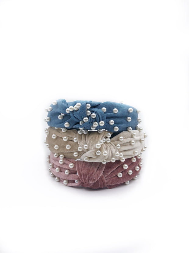 Pearl Beaded Headbands - Fruit of the Vine