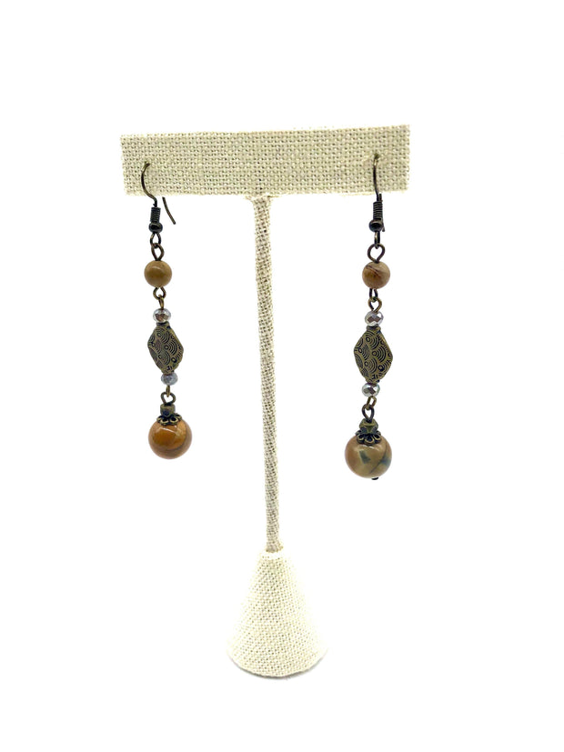 Handmade Earrings by Carol Su | Fruit of the Vine Boutique