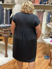 Courtney Babydoll Dress (Curvy)
