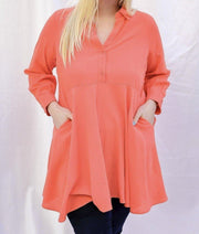Vanessa Tunic Top | Fruit of the Vine Boutique