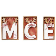 Initial Ceramic Ornament | Mud Pie