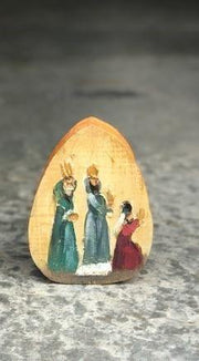 Handmade Nativity Art