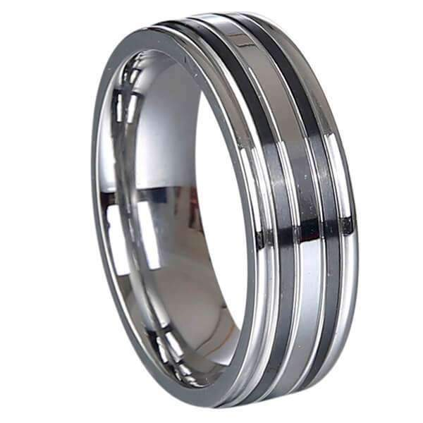 Men's Stainless Steel Rings - Fruit of the Vine