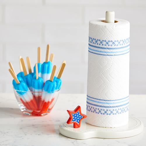 Paper Towel Holder | Melamine by Nora Fleming | Fruit of the Vine Boutique