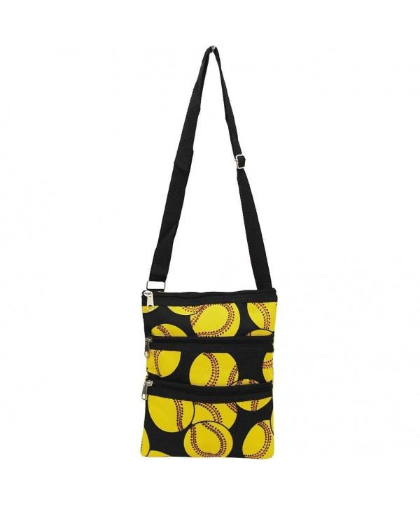 Softball Crossbody Bag - Fruit of the Vine