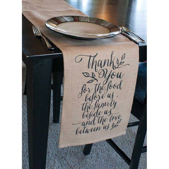 "Thankful Table Runner (72x12"")"