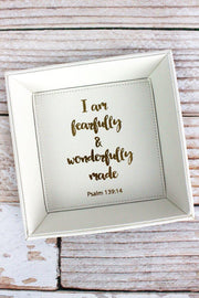 Fearfully & Wonderfully Made Catchall Tray
