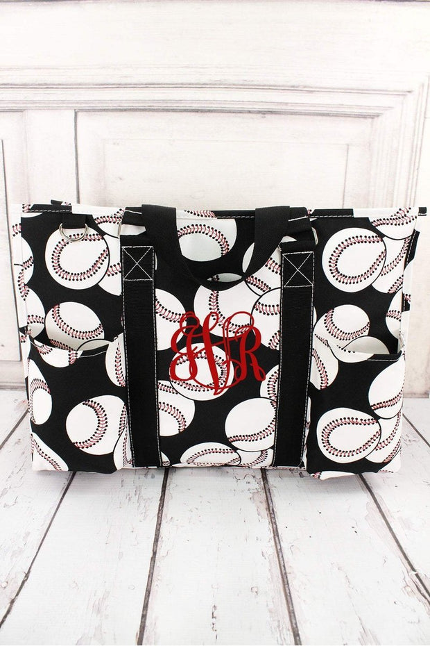 Large Baseball Tote Organizer - Fruit of the Vine