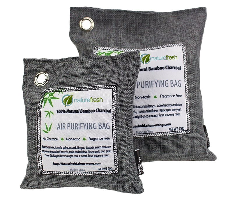 NatureFresh™ - Bamboo Charcoal Bags - Air Purifier