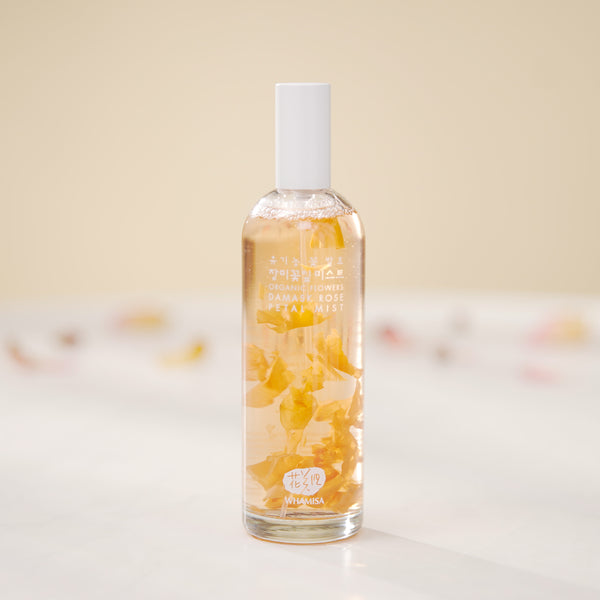Organic Flowers Damask Rose Petal Mist