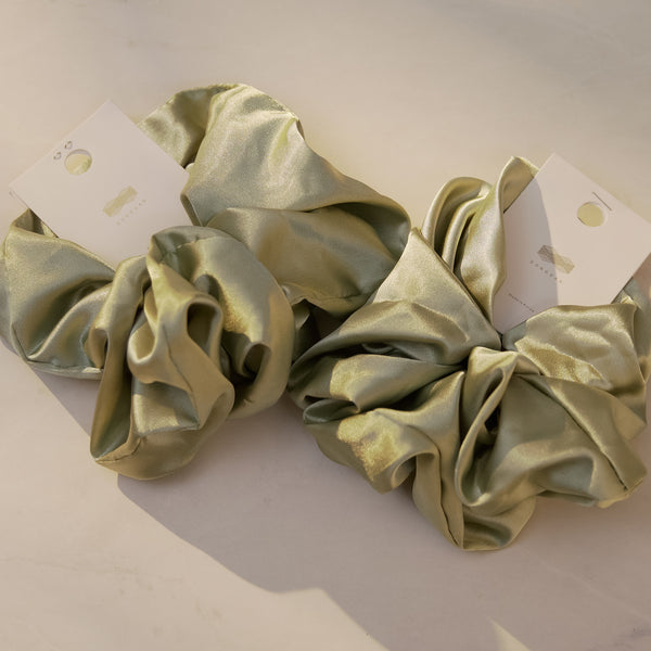 Silk Hair Scrunchies