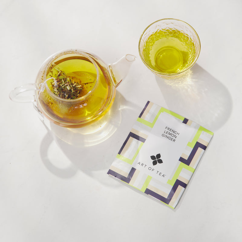 French Lemon Ginger Eco Teabag Sachets