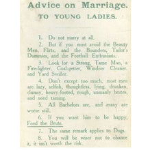 "Load image into Gallery viewer, ""Advice on Marriage"" from 1918 Shirt"