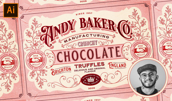 HOW TO DESIGN A VINTAGE CHOCOLATE BOX PACKAGING