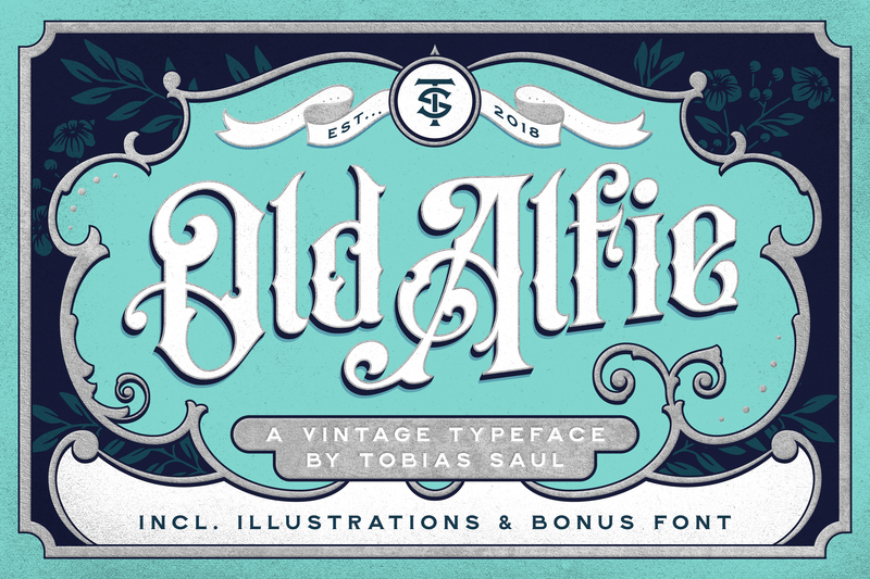 Old Alfie Font Duo - HTC GmbH