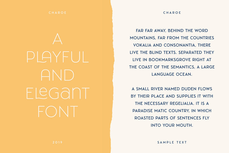 Charoe Typeface + Extras - HTC GmbH