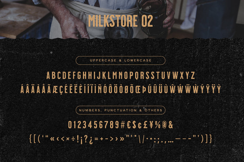 Milkstore Font Collection - HTC GmbH