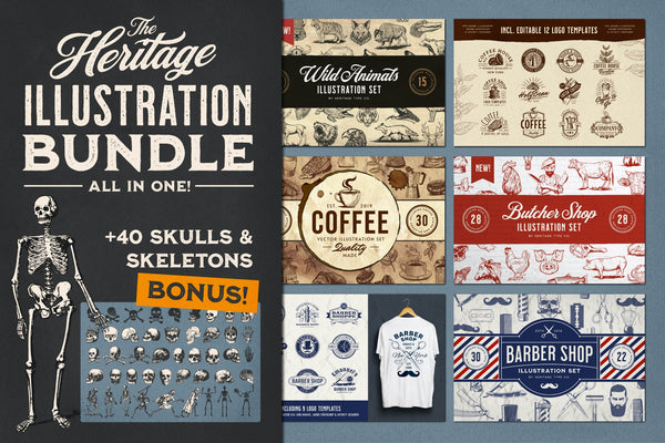 The Heritage Illustration Bundle