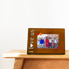 "Load image into Gallery viewer, ""I LOVE US"", MAGNETIC FRAME"