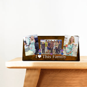 """I LOVE THIS FAMILY"", MAGNETIC FRAME"