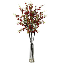 Cherry Blossoms w/Vase Silk Flower Arrangement