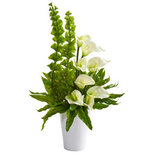 "23"" Calla Lily and Bell of Ireland Artificial Arrangement"