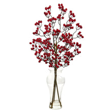 Berry Artificial Arrangement in Glass Vase