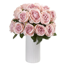 Rose Artificial Arrangement in White Vase