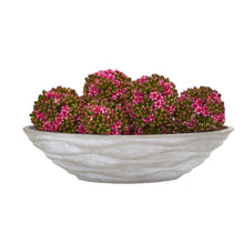 Artificial Kalanchoe Balls (Set of 6) with Decorative Vase