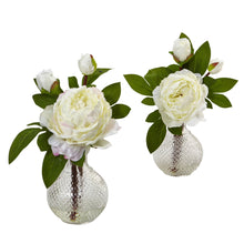 Peony with Vase (Set of 2)