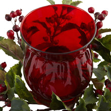 Holly Berry Candleabrum