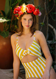 SUNFLOWER FIELDS SWIMSUIT