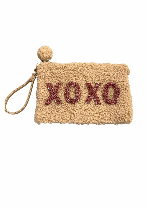 PINK XOXO COSMETIC BAG