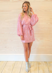 ELLA SEQUIN DRESS