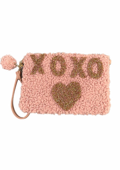 RHINESTONE XOXO HEART BAG
