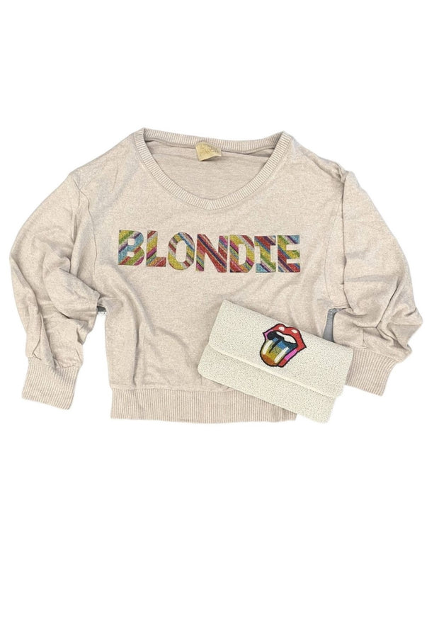 RAINBOW BLONDIE SWEATER