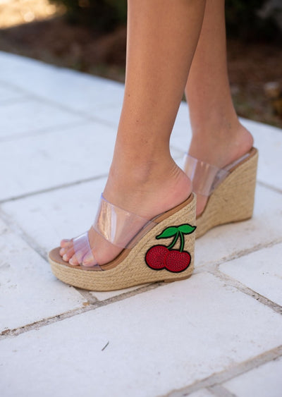 CHERRY BOMB WEDGE
