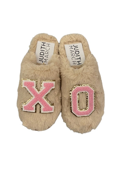 LOVE ME LIKE XO SLIPPERS